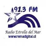 Logo da emissora Radio Estrella del Mar 91.3 FM