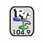 Logo da emissora Rádio Comunitária de Cerro Branco 104.9 FM