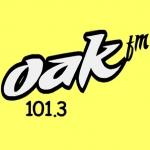 Logo da emissora Radio Oak 101.3 FM
