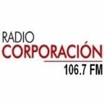 Logo da emissora Radio Corporación 106.7 FM