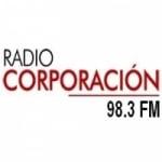 Logo da emissora Radio Corporación 98.3 FM