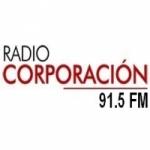 Logo da emissora Radio Corporación 91.5 FM