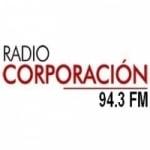 Logo da emissora Radio Corporación 94.3 FM