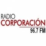 Logo da emissora Radio Corporación 96.7 FM