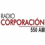 Logo da emissora Radio Corporación 550 AM