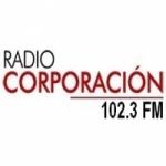 Logo da emissora Radio Corporación 102.3 FM