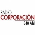Logo da emissora Radio Corporación 640 AM