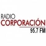 Logo da emissora Radio Corporación 95.7 FM