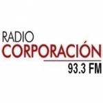 Logo da emissora Radio Corporación 93.3 FM