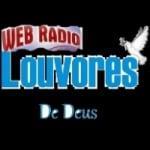 Logo da emissora Rádio Web Louvores de Deus