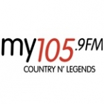 Logo da emissora Radio My 105 FM 105.9