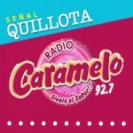 Logo da emissora Radio Caramelo 92.7 FM