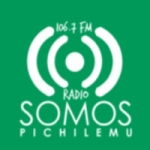 Logo da emissora Radio Somos 106.7 FM