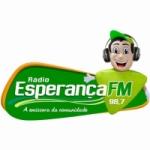 Logo da emissora Rádio Esperança 98.7 FM