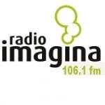 Logo da emissora Radio Imagina 106.1 FM