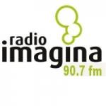 Logo da emissora Radio Imagina 90.7 FM