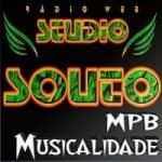 Logo da emissora Rádio Studio Souto - MPB Musicalidade