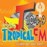 Logo da emissora Rádio Tropical FM de Marudá