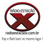 Logo da emissora Rádio Estação X