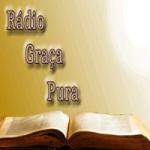 Logo da emissora Rádio Graça Pura