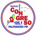 Logo da emissora Radio Congreso 105.1 FM