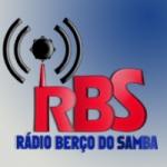 Logo da emissora Rádio Berço do Samba