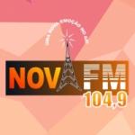Logo da emissora Rádio Nova 104.9 FM