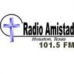 Logo da emissora Radio Amistad 101.5 FM