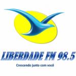 Logo da emissora Rádio Liberdade 98.5 FM