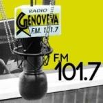 Logo da emissora Radio Genoveva 101.7 FM