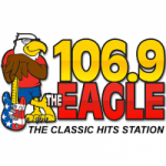 Logo da emissora Radio WWEG The Eagle 106.9 FM