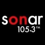 Logo da emissora Radio Sonar 105.3 FM