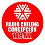 Logo da emissora Radio Chilena de Concepción 1030 AM
