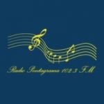 Logo da emissora Radio Pentagrama 102.3 FM