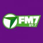 Logo da emissora Radio FM7 89.7