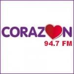 Logo da emissora Radio Corazón 94.7 FM