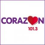 Logo da emissora Radio Corazón 100.5 FM