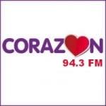 Logo da emissora Radio Corazón 94.3 FM