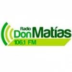 Logo da emissora Radio Don Matias 106.1 FM