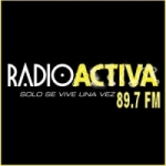 Logo da emissora Radio Activa 89.7 FM