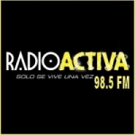 Logo da emissora Radio Activa 98.5 FM