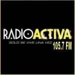 Logo da emissora Radio Activa 105.7 FM
