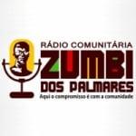 Logo da emissora Rádio Zumbi dos Palmares JP
