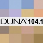 Logo da emissora Radio Duna 104.1 FM