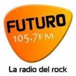 Logo da emissora Radio Futuro 105.7 FM