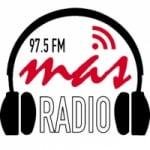 Logo da emissora Radio Mas 97.5 FM