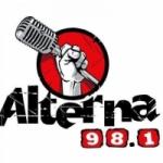 Logo da emissora Radio Alterna 98.1 FM