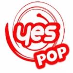 Logo da emissora Rede Yes Pop
