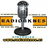 Logo da emissora Radio Bknes 98.1 FM