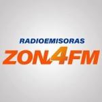 Logo da emissora Radio Zona 4 100.5 FM